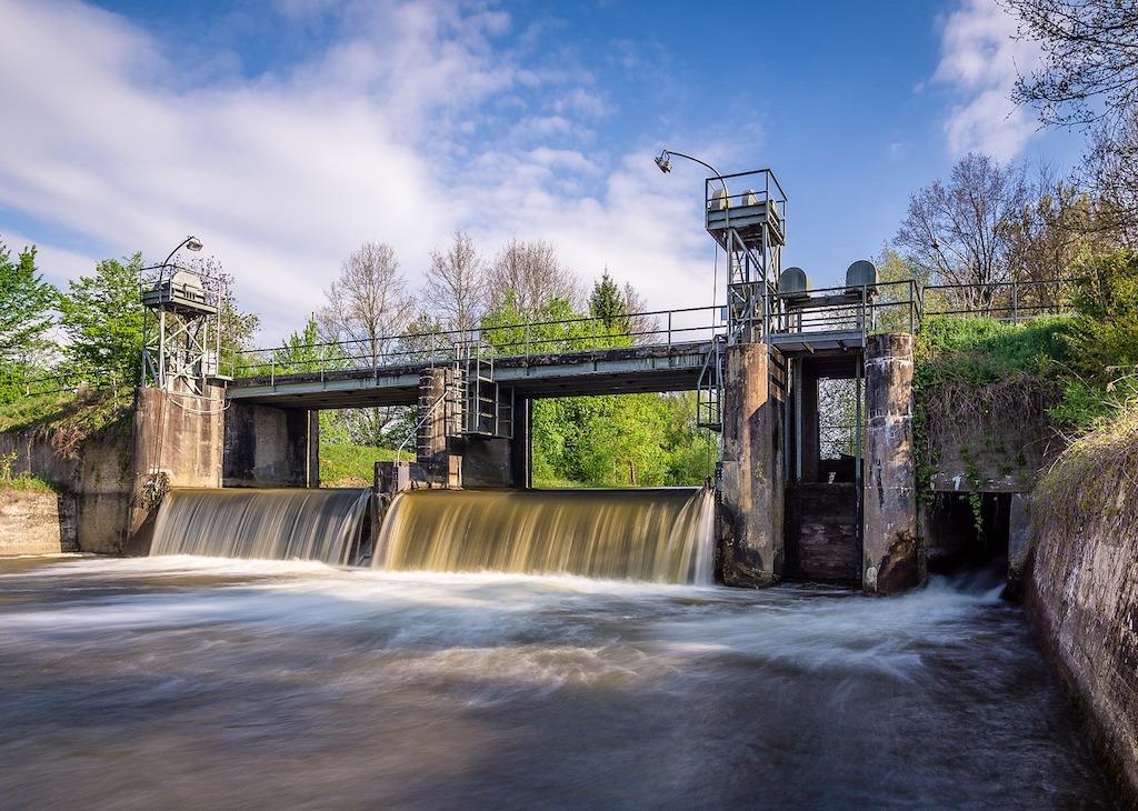 Wasserkraftwerke in Süddeutschland und Italien